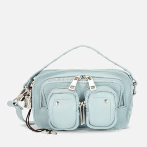 Núnoo Women's Helena Smooth Cross Body Bag - Light Blue