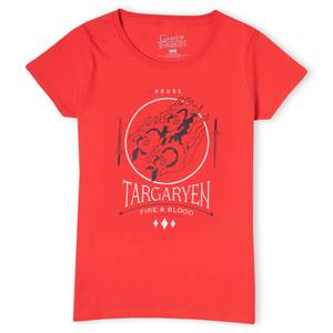 Game of Thrones House Targaryen Women's T-Shirt - Red