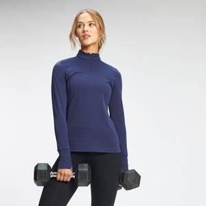 MP Women's Power Ultra Regular Fit 1/4 Zip Top - Galaxy Blue