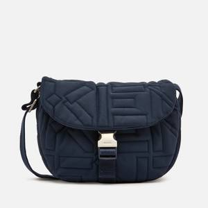 KENZO Women's Nylon Saddle Bag - Navy Blue