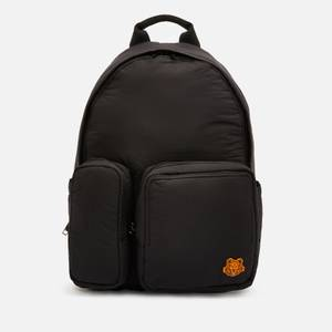 KENZO Nylon Backpack - Black