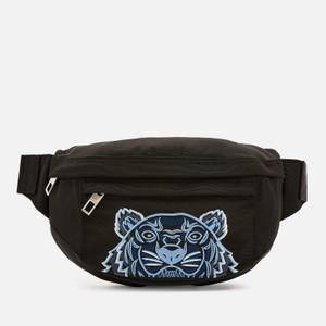 KENZO Kampus Canvas Belt Bag - Black