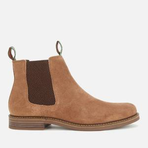 Barbour Men's Farsley Suede Chelsea Boots - Sand