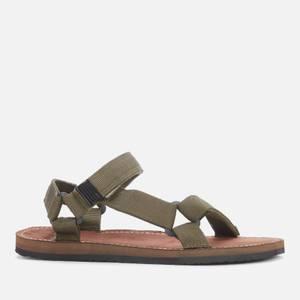 Barbour Men's Hillman Beach Sandals - Olive