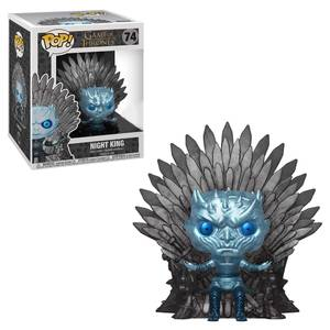 Game of Thrones Night King on Throne EXC Funko Pop! Deluxe