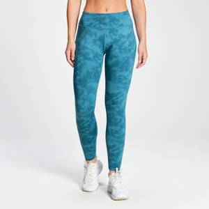MP Women's Raw Training Reversible Leggings - Ocean Blue
