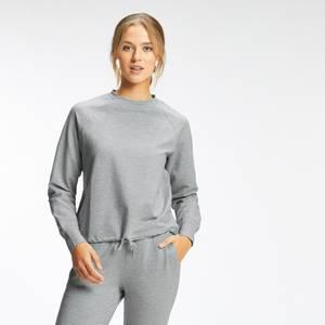 MP Women's Composure Crew Neck Sweatshirt - Chrome