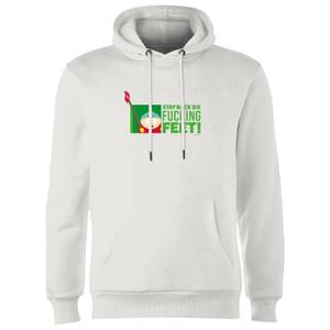 South Park Cartman Six Feet Unisex Hoodie - White