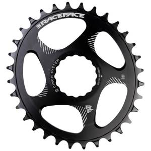 Race Face Direct Mount Narrow Wide Oval 10/12 Speed Chainring - Black