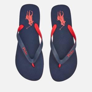 Polo Ralph Lauren Men's Eva Flip Flops - Newport Navy/Red PP