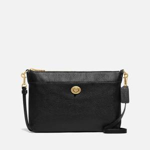 Coach Women's Excl Naw Polished Pebble Polly Cross Body Bag - Black
