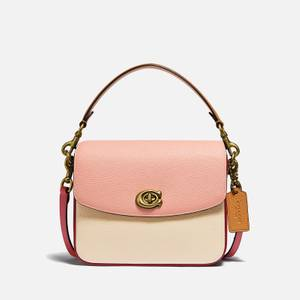 Coach Women's Colorblock Cassie Cross Body Bag 19 - Ivory Blush Multi