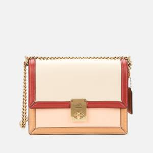Coach Women's Colorblock Hutton Shoulder Bag - Ivory Blush Multi