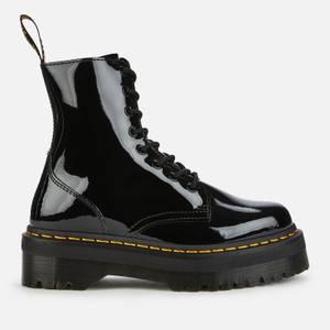 Dr. Martens Women's Jadon Patent Lamper Leather 8-Eye Boots - Black