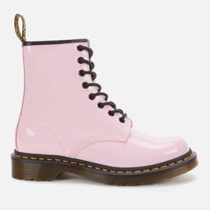 Dr. Martens Women's 1460 Patent Lamper 8-Eye Boots - Pale Pink