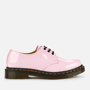 Dr. Martens Women's 1461 Patent Lamper 3-Eye Shoes - Pale Pink