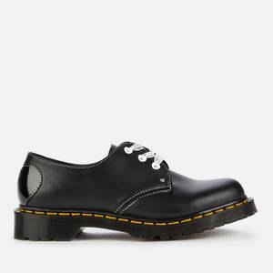 Dr. Martens Women's 1461 Hearts Smooth Leather 3-Eye Shoes - Black