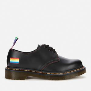 Dr. Martens 1461 Pride Smooth Leather 3-Eye Shoes - Black