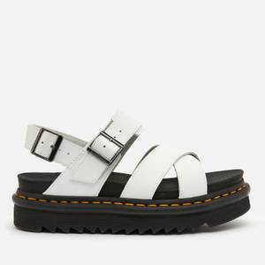 Dr. Martens Women's Voss Ii Leather Sandals - White