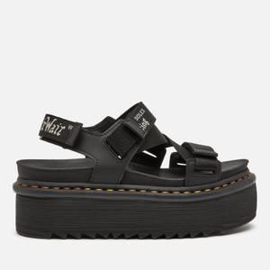 Dr. Martens Women's Kimber Quad Sandals - Black