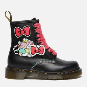 Dr. Martens X Hello Kitty Women's 1460 Leather Boots - Black