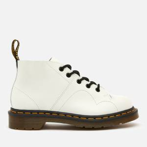 Dr. Martens Women's Church Smooth Leather Monkey Boots - White