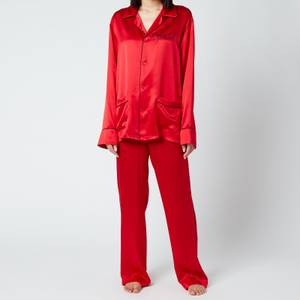 More Joy Women's Special Pyjamas - Red