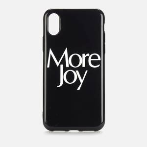 More Joy Women's More Joy iPhone X Case - Black