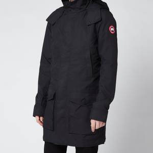 Canada Goose Men's Crew Trench Lightweight Jacket - Black