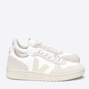 Veja Women's V10 B-Mesh Trainers - White/Natural Pierre