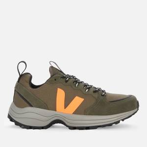 Veja Men's Venturi Chunky Running Style Trainers - Kaki/Neon Orange