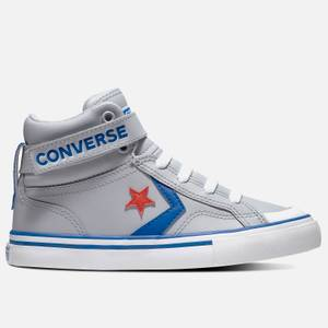 Converse Kids' Pro Blaze Hi - Top Trainers - Wolf Grey