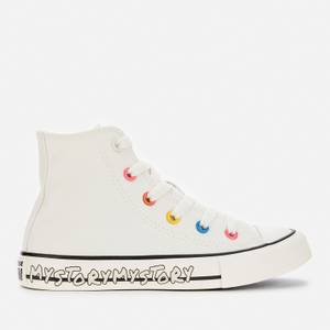 Converse Kids' Chuck Taylor All Star My Story Hi - Top Trainers - Egret