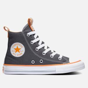 Converse Kids' Chuck Taylor All Star Seasonal Hi - Top Trainers - Storm Wind