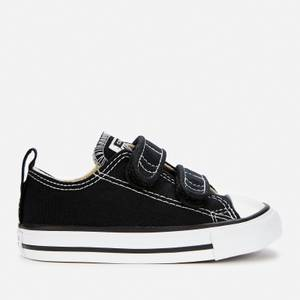 Converse Toddlers' Chuck Taylor All Star Ox Velcro Trainers - Black