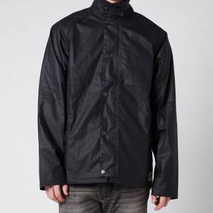 Barbour Men's Gelbin Wax Jacket - Navy