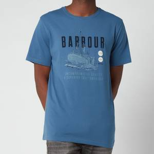 Barbour Men's Storm T-Shirt - Washed Inky