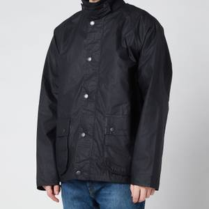 Barbour Men's Selbin Wax Jacket - Navy