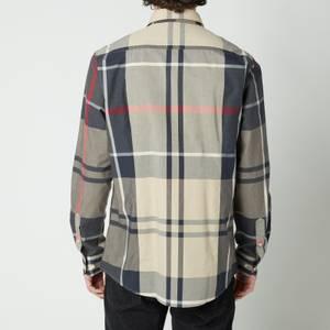 Barbour Men's Tartan 12 Long Sleeve Shirt - Stone