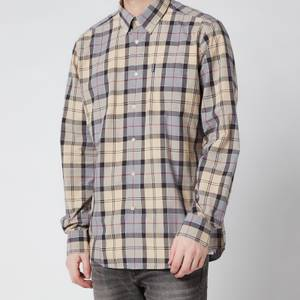 Barbour Men's Tartan 7 Tailored Shirt - Stone