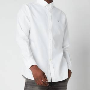 Barbour Men's Oxford 3 Tailored Fit Shirt - White
