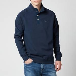 Barbour Men's Half Snap Sweatshirt - Navy