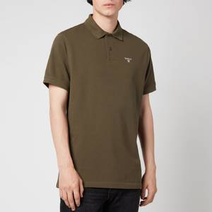 Barbour Men's Sports Polo Shirt - Olive