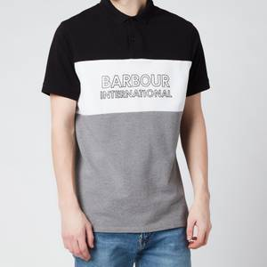 Barbour International Men's Bold Polo Shirt - Black