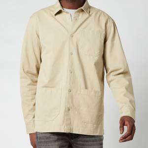 Barbour International Men's Worker Overshirt - Washed Stone
