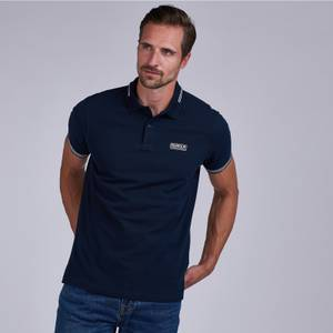 Barbour International Men's Essential Tipped Polo Shirt - Navy