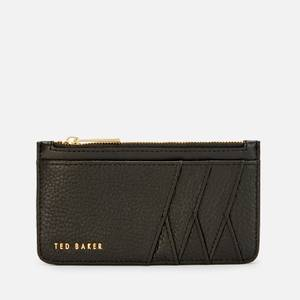 Ted Baker Women's Gerii Diagonal Zipped Credit Card Holder - Black