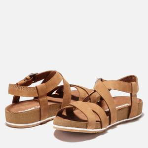 Timberland Women's Malibu Waves Double Strap Sandals - Rust