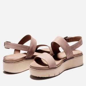 Timberland Women's Safari Dawn Flatform Sandals - Taupe