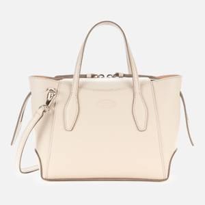 Tod's Women's Mini Zip Tote Bag - Grey Brooklyn